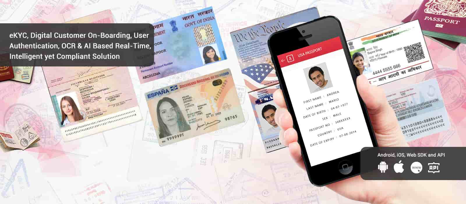 Passport Scanner | ID card Reader | OCR MRZ App Solution for