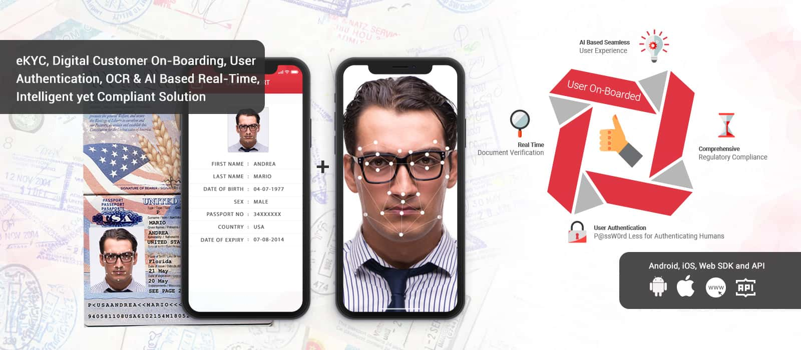 Passport Scanner | ID card Reader | OCR MRZ App Solution for Android/iOS