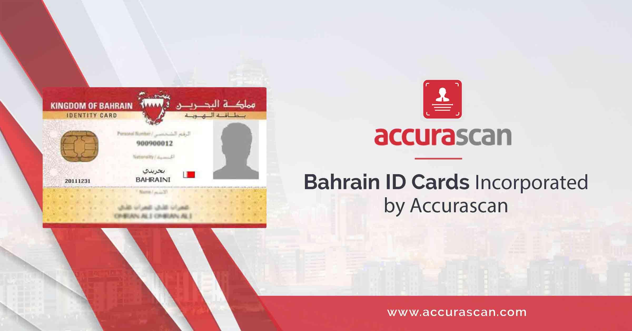 bahrain id cards incorporatedaccurascan