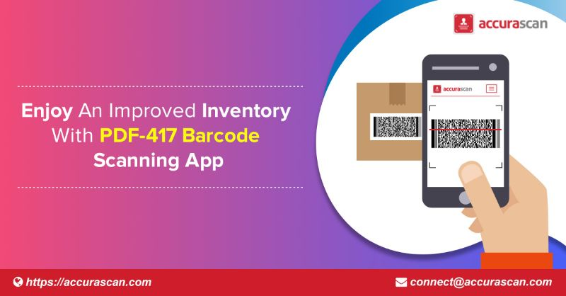 Enjoy An Improved Inventory With PDF-417 Barcode Scanning App